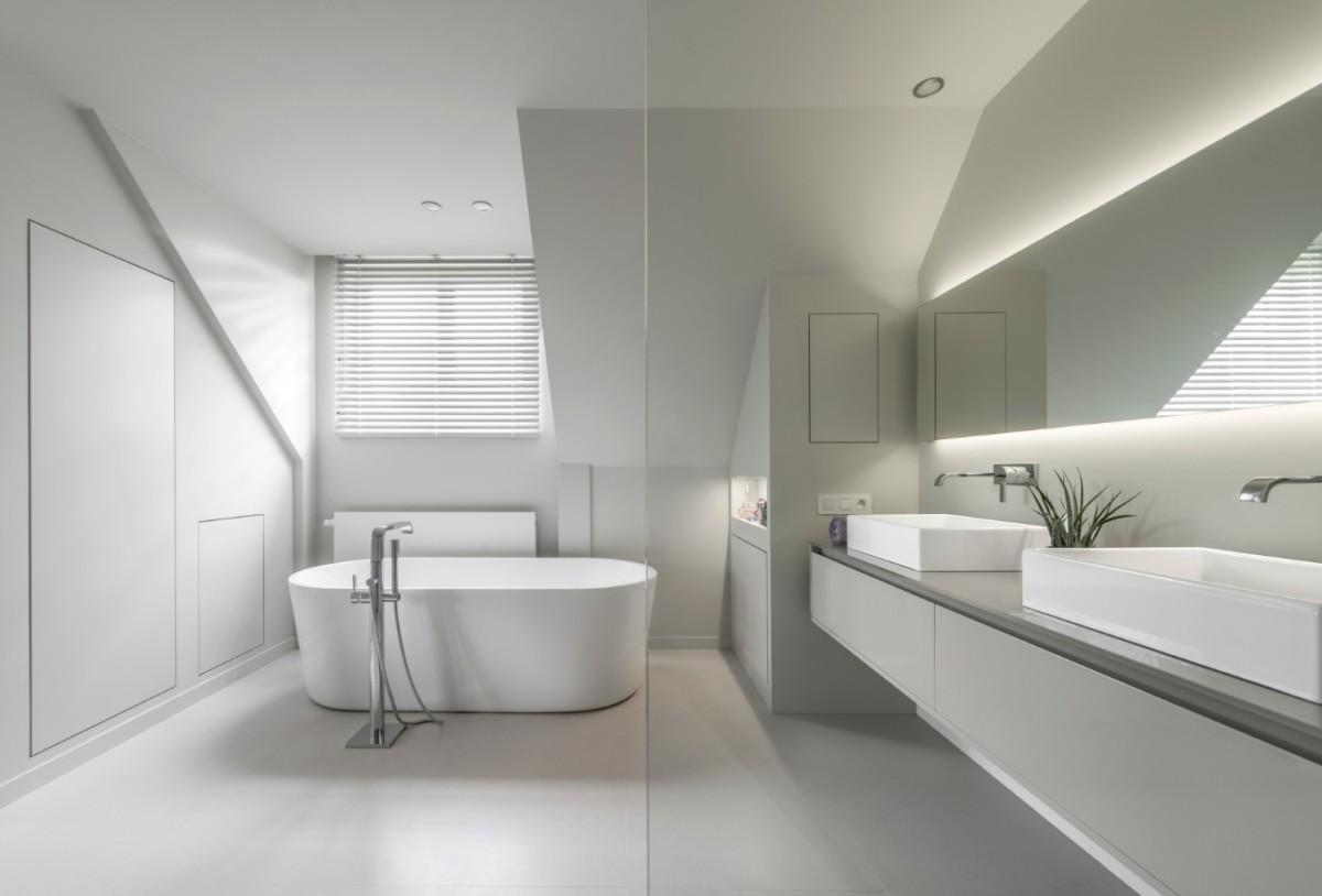 Custom made bathroom design - Lefèvre Interiors Belgium
