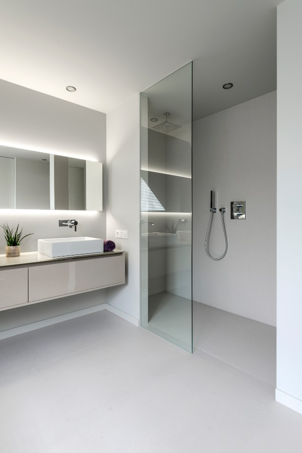 Custom made bathroom design - Lefèvre Interiors Belgium