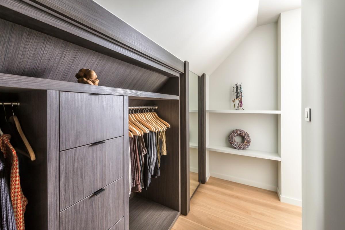Custom made dressing room design - Lefèvre Interiors Belgium