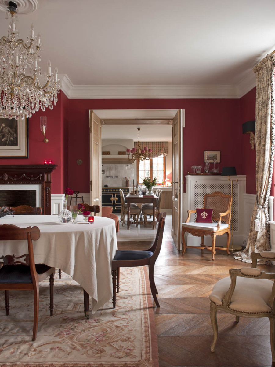 Custom made dining room design - Lefèvre Interiors Belgium