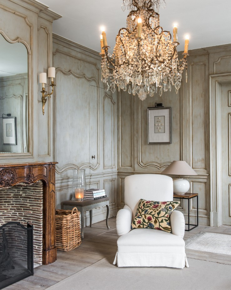Lambrisering - Panelling - Boiserie - Lefèvre Interiors Belgium